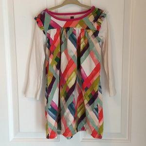 Tea Collection l Multi Color Long Sleeve Dress.